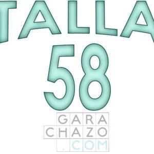 Talla 58
